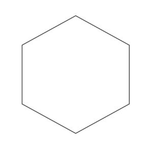 Шестиугольник для логотипа АСТО