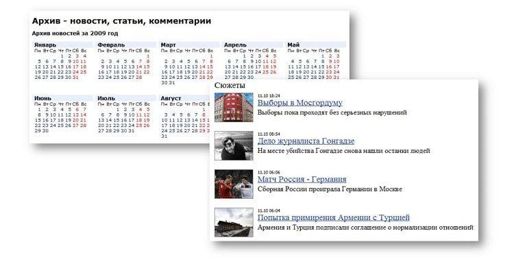 Хронологическая организация