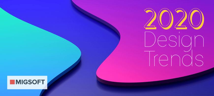 Тренды веб-дизайн 2020